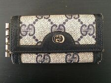 Vintage GUCCI Key Holder Signature GG ACCESSORY COLLECTION Black