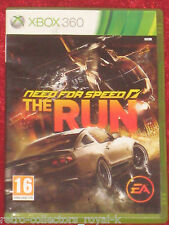 Microsoft XBOX 360 Game NEED FOR SPEED THE RUN English UK PAL