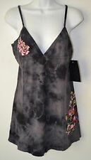 Affliction, Tank Top, XL, Sinful, Heart and Rose, Black/Gray