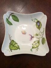 "Godinger & Co Porcelain 4 1/2"" Dish Ladybug And Leaf Design"