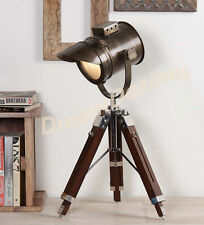 Nautical designer table Lamp Searchlight Spot Light Vintage Industrial Marine