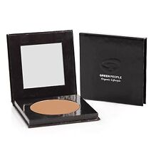 GREEN PEOPLE MAQUILLAJE COMPACTO CARAMELO MEDIUM 10g - ORGÁNICO - VEGETAL