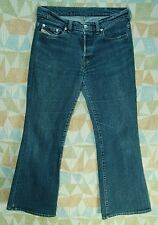 Distressed Low FLARE Button Fly DIESEL INDUSTRY Jeans! 29 short