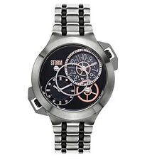 Storm London Men's Dualtec Black Dual Time Watch Was £179.95 Now £119.95