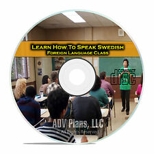 Learn How To Speak Swedish, Fluent Foreign Language Training Class, CD E18
