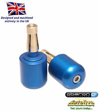"Oberon large universal bar end weights (7/8"" bar - Blue) - UBE-0914-BLUE"