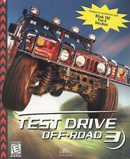 TEST DRIVE OFF-ROAD 3 PC Racing Game Hummer PC new CD