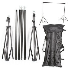 HQ Photo Video Studio Backdrop Photography Background Support Stand Frame 2*3M