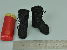 1/6 Scale Military Boots for Verycool VCF-2029 Female Shooter Black Ver