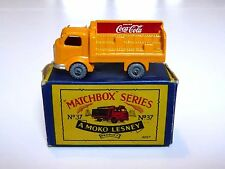 Matchbox Lesney No.37a Karrier Bantam Coca Cola B2 MOKO Box (UNEVEN LOAD!! VGC!)