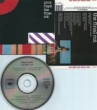 PINK FLOYD-THE FINAL CUT-1983-USA-COLUMBIA RECORDS CK 38243 CMU P 65-CD-MINT-