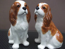 Cavalier King Charles Spaniel Salt and Pepper Pots Blenheim Cavalier Cruet Set