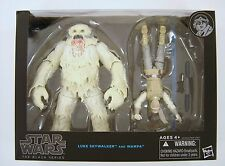 Hasbro Star Wars The Black Series Luke Skywalker and Wampa 6 inch Figures