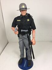 1/6 HASBRO SHERIFF DEPUTY POLICE OFFICER FULL GEAR PISTOL DRAGON BBI DID 21ST