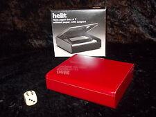 ^°^ 70er Design HELIT Zettelkasten DIN A 7  Entwurf Walter Zeischegg 1975