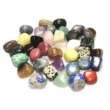 5PCS Colorful Tumbled Stones Inspiration Reiki Crystals Healing Fish Tank Dec