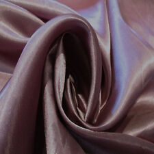 "20 Yard Lot MAUVE #61 Charmeuse Satin 100% Poly Fabric Wholesale 60"" W"