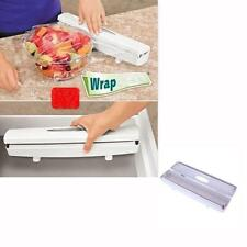 ALUMINUM FOIL WAX PAPER CUTTER PLASTIC WRAP DISPENSER ROLL WRAPTASTIC EASY CUT