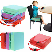 Kids Children Student Increased Chair Seat Pad Safe Booster Dining Study Cushion