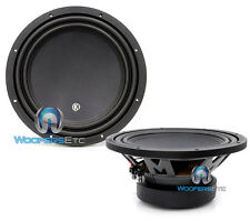 "(2) MEMPHIS MCR12D4 12"" SUBS DVC 4-OHM 600W SUBWOOFERS CLEAN BASS SPEAKERS NEW"