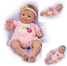 Skyler Baby Doll by Ashton-Drake Weighted - poseable by artist Sherry Rawn