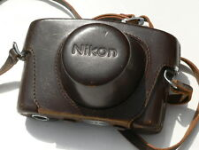 "Nice Nikon SP rangefinder camera with 50mm f:1.4 lens, cap/hood/case ""LQQK"""