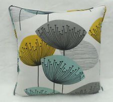 Sanderson Fabric Cushion Cover 'Dandelion Clocks' Chaffinch -  Cotton