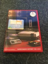 Super Mario History 1985-2010 CD soundtrack for for Nintendo Wii
