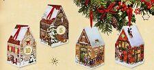 Nostalgische Weihnachtsstadt 24 Adventshäuschen z. Falten Füllen Adventskalender