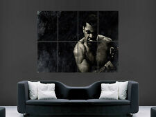 MUHAMMAD ALI BOXING LEGEND CASSIUS CLAY VINTAGE EFFECT  POSTER ART  PRINT LARGE