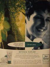 PUBLICITÉ 1994 YVES ROCHER RÉTINOL NATURE - ADVERTISING