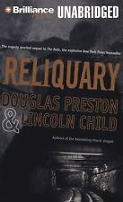 Douglas Preston, Lincoln Child * RELIQUARY * Unabridged 12 CDs *NEW* *FAST SHIP*
