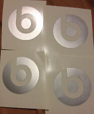 4 beat stickers vinyl monster beat  music headphone logo 2inx2 in rap rock