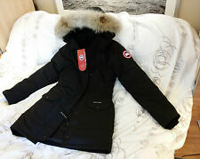 2015 EDITION BLACK (RED LABEL) CANADA GOOSE TRILLIUM LARGE ARCTIC PARKA JACKET