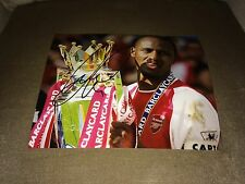 ARSENAL FC SOCCER PATRICK VIEIRA SIGNED AUTOGRAPHED 8X10 PHOTO COA