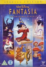 Fantasia Special Edition Original Walt Disney Samuel Armstrong, James NEW R2 DVD
