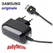 CARICABATTERIA RETE ORIGINALE Samsung E2370 E251 E2550 MONTE SLIDER F110 F210