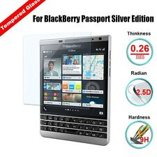 9H Tempered Glass Film Screen Protector For BlackBerry Passport Silver Edition