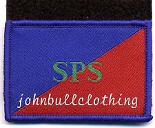 SPS (STAFF AND PERSONNEL SUPPORT) FLASH WITH HOOK & LOOP - CLOTH PATCH