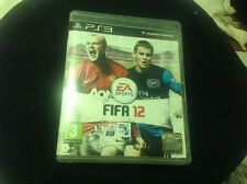 PS3 Playstation 3 Pal Game FIFA 12 Box EA Sports Football