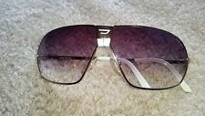 DIESEL Men's Folding Sunglasses Light Shiny Gold/White Style# 0035/S, Excellent!