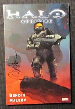 2010 HALO UPRISING by Bendis & Maleev SC SIGNED VF+ 8.5 1st Marvel