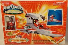 Power Rangers Time Force Vector Wing Vehicle With Exclusive Red Ranger Bandai