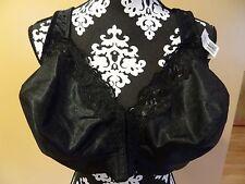 Serenada front closure satin unlined no wire Full Coverage bra plus size 48 C
