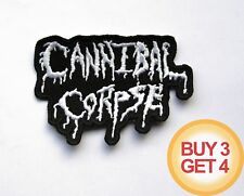 CANNIBAL CORPSE WT PATCH BUY3GET4,SUFFOCATION,SIX FEET UNDER,DEICIDE,DEATH METAL