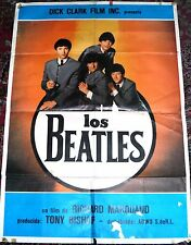 Beatles Original Movie Poster VG Condition NR - Dick Clark Productions Marquand