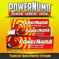 30g Power Numb Lidocaine Numbing Cream PAIN FREE Tattoo Piercing Waxing Laser Dr
