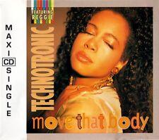 Technotronic Featuring Reggie Maxi CD Move That Body - Belgium (EX+/VG+)