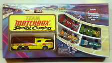 DTE 1973 5 PC G-4 SUPERFAST CHAMPIONS TEAM MATCHBOX GIFT SET NIOB