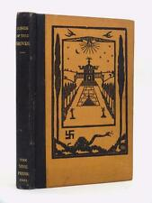 VICTOR NEUBURG Songs of the Grove VINE PRESS Steyning 1921 limited edition HB